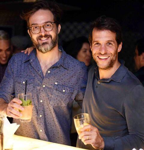 Tomas Rangel e Arturo Isola