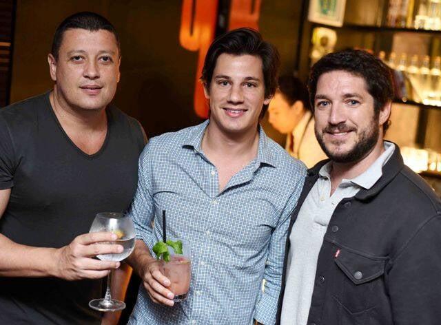 Tulio Mosci, Alberto Matto e Christian Kischner