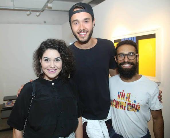 Ana Júlia Kiss, Felipe Santos e Renan Mingroni
