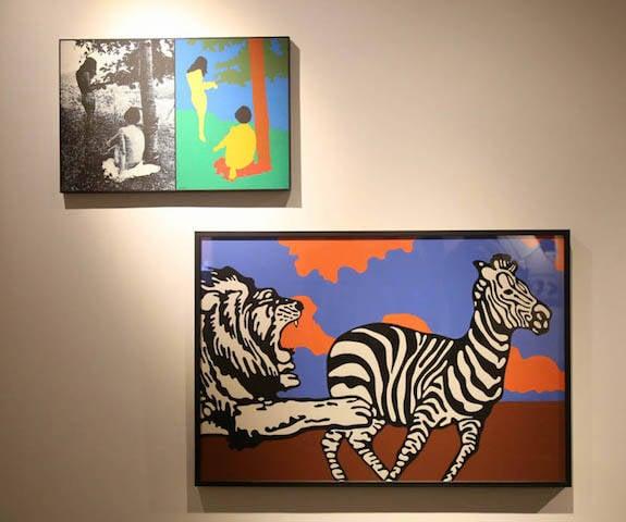 Alguns dos trabalhos de Claudio Tozzi