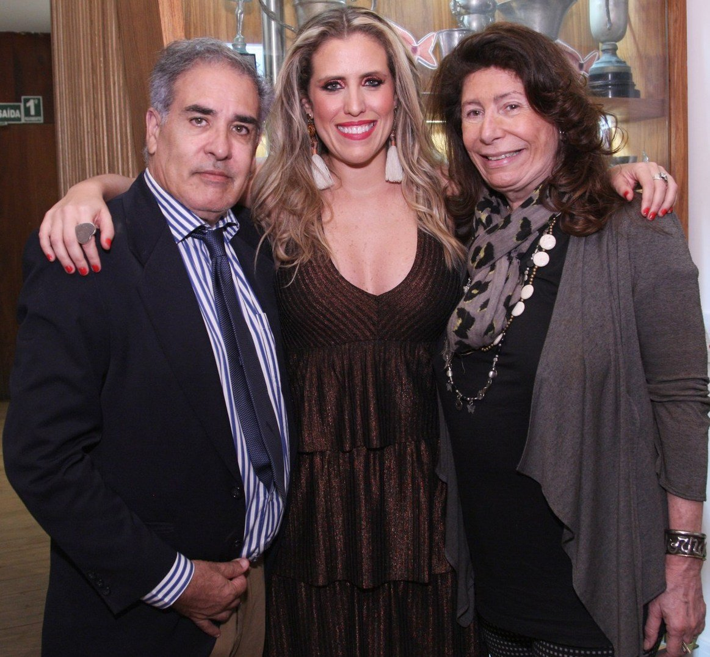 Luiz Villarino, Bruna Barros e Ana Maria Tornaghi  - Fotos: Vera Donato