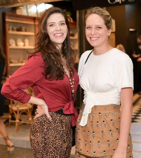Camila Schnarndorf e Juliana Severiano