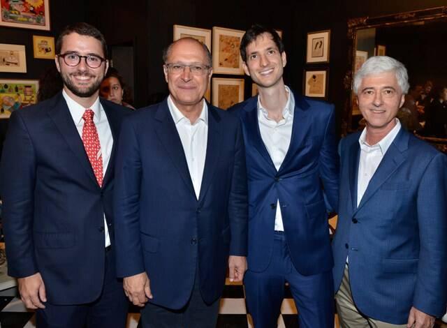 Gabriel Sauer, Geraldo Alckmin, Rafael e Daniel Sauer