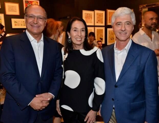 Geraldo Alckmin, Marina e Daniel Sauer