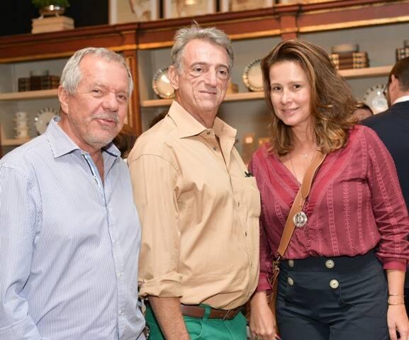 Nelson Biondi, Marcelo Secaf e Verônica Nieckle