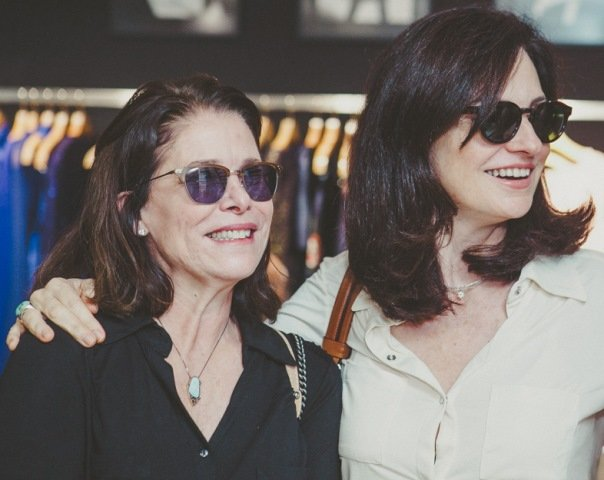 Lucia Rebello e Monica Ridolfi