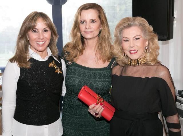 Andrea Rudge, Priscila Bentes e Mariza Coser