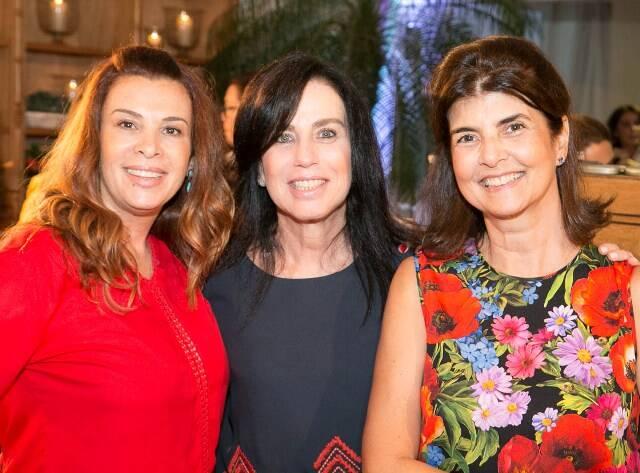Carla Pinto, Letícia Abramoff e Viviane Grabowsky