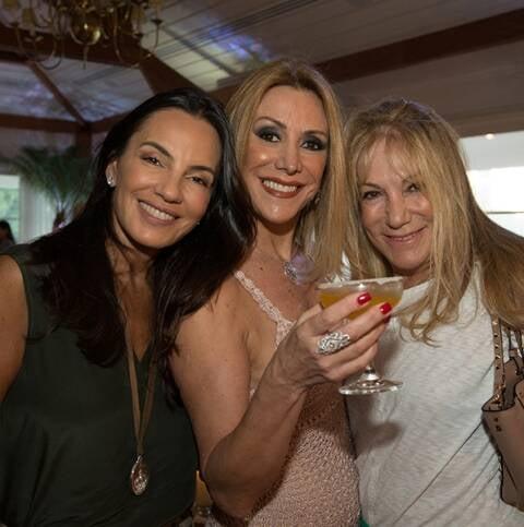 Catarina Fontes, Isabela Francisco e Celina Cassab de Oliveira
