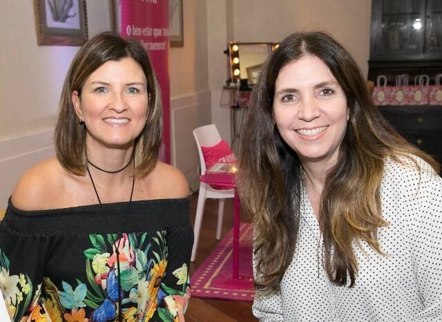 Érica Assunção e Adriana Cantoni