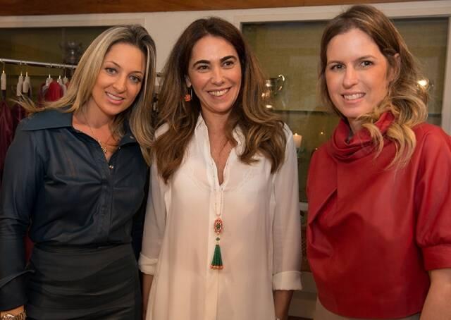 Fernanda Masciotro, Rita Zecchin e Juliana Maksoud