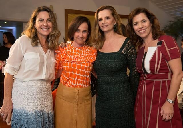 Geovana Dias, Bebel Niemeyer, Priscila Bentes e Carla Baroncini