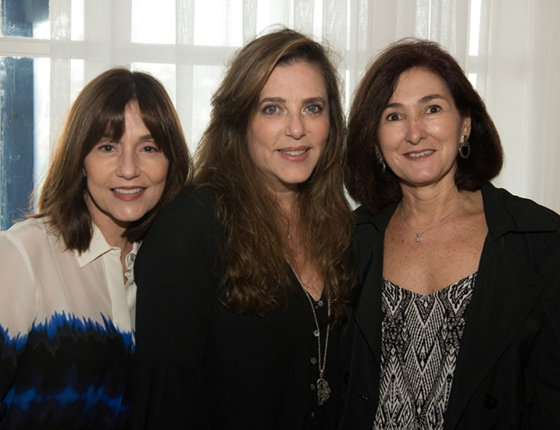 Nídia Fernandez, Andreia Repsold e Rosana Pizarro