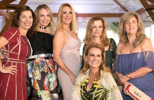 Carla Baroncini, Nina Kauffmann,  Isabela Francisco, Priscila Bentes, Kika Gama Lobo e Elisa Marcolini