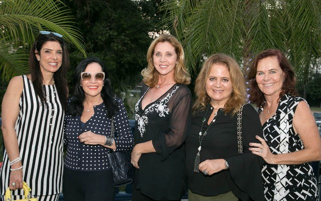 Patrícia Brandrão, Liliane Rodrigues, Katia Spolavori, Renata Fraga e Xenia Goes