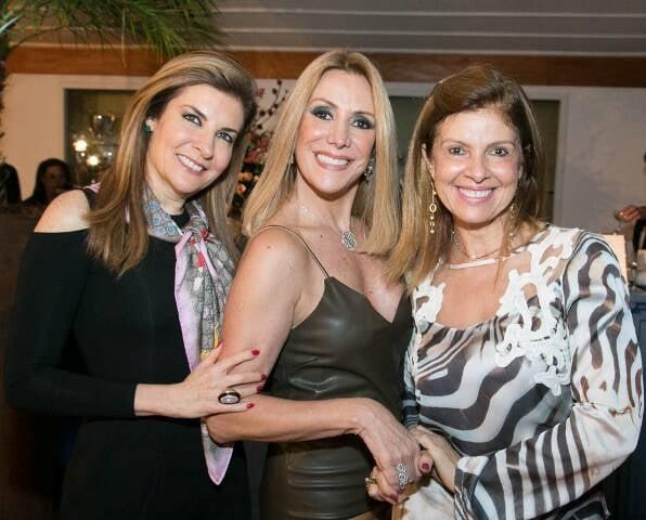 Sonia Chalfin, Isabela Francisco e Sureia Menezes