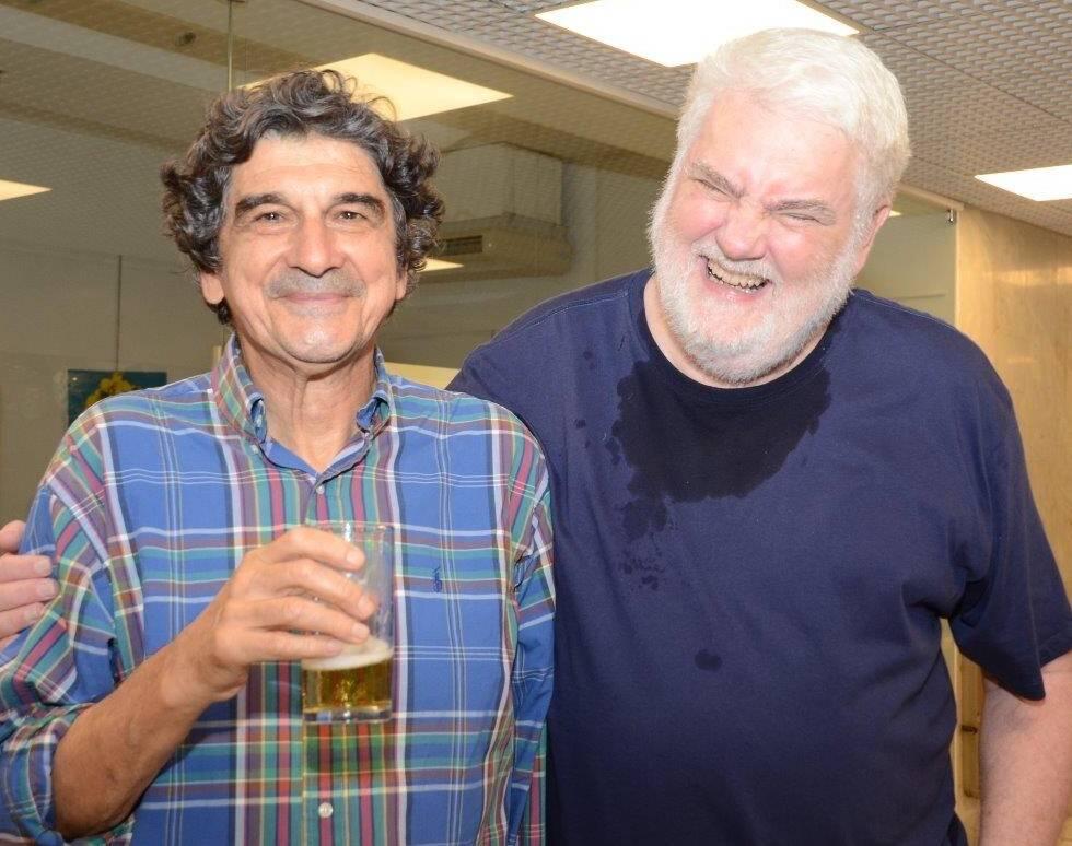 George Iso e John Nicholson /Foto: Marco Rodrigues