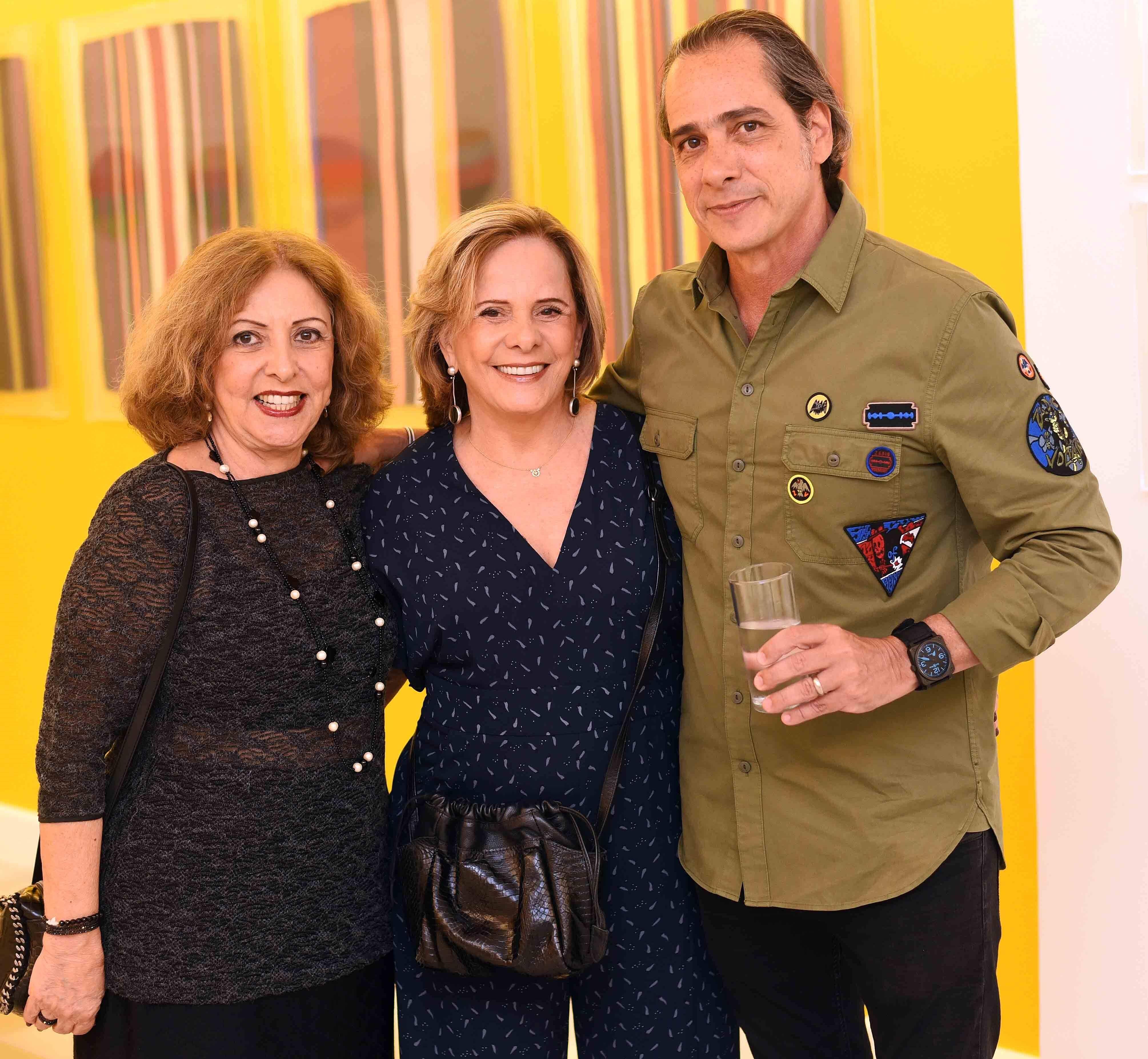 Ana Tabach, Celia Catalano e Marcelo Catalano /Foto: Ari Kaye