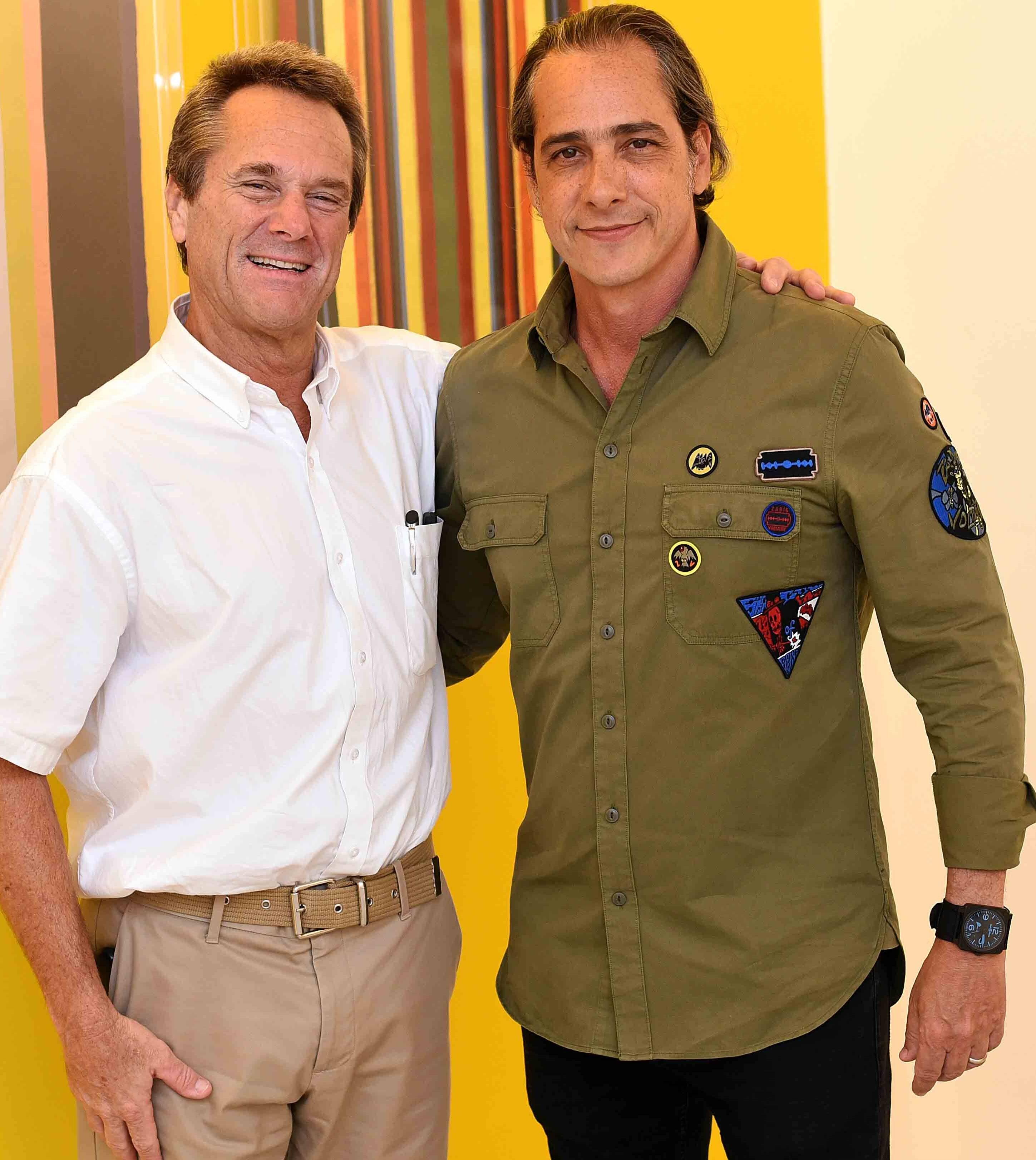 Roberto Nauenberg e Marcelo Catalano  /Foto: Ari Kaye