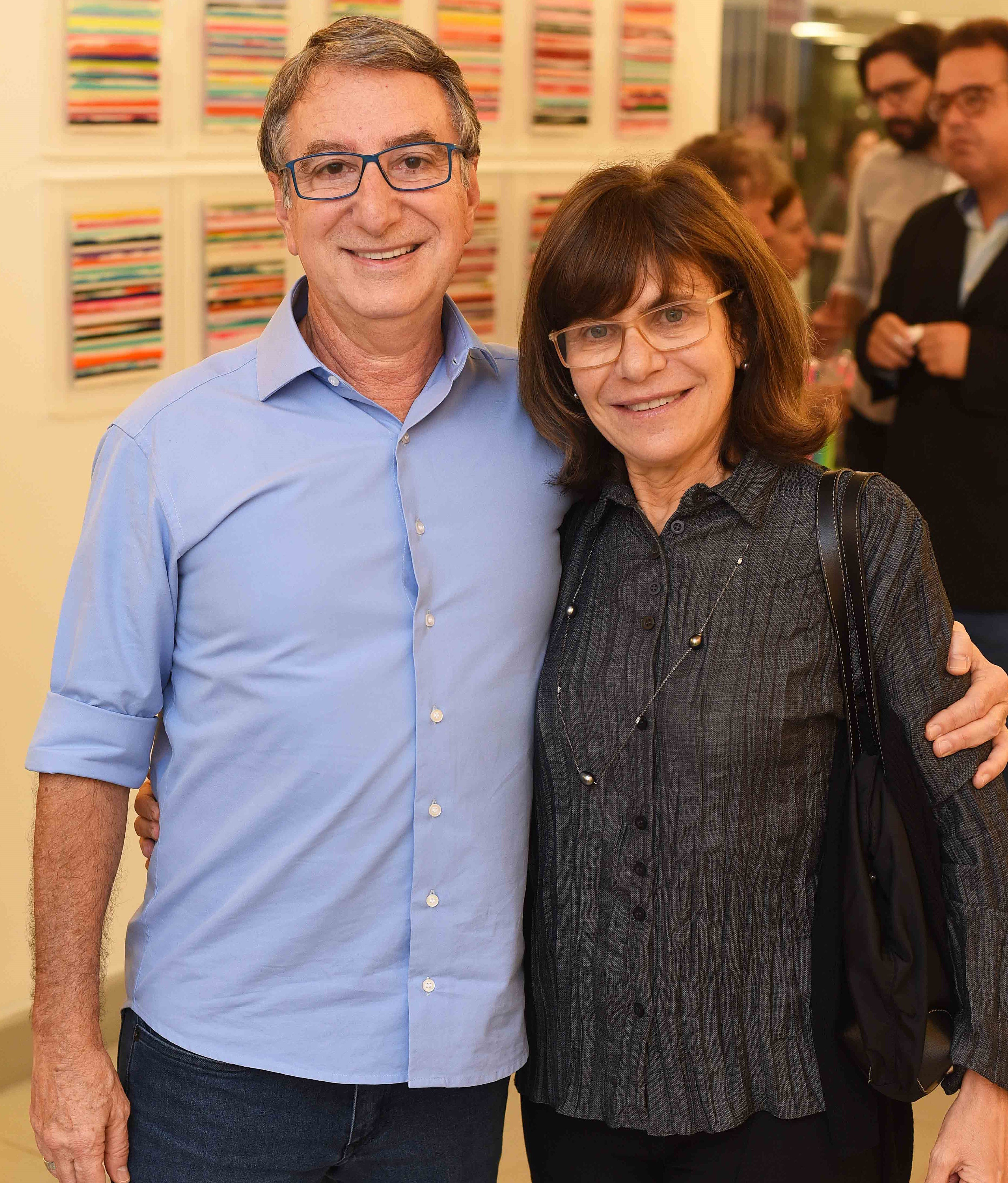 Salomão e Riva Crosman  /Foto: Ari Kaye