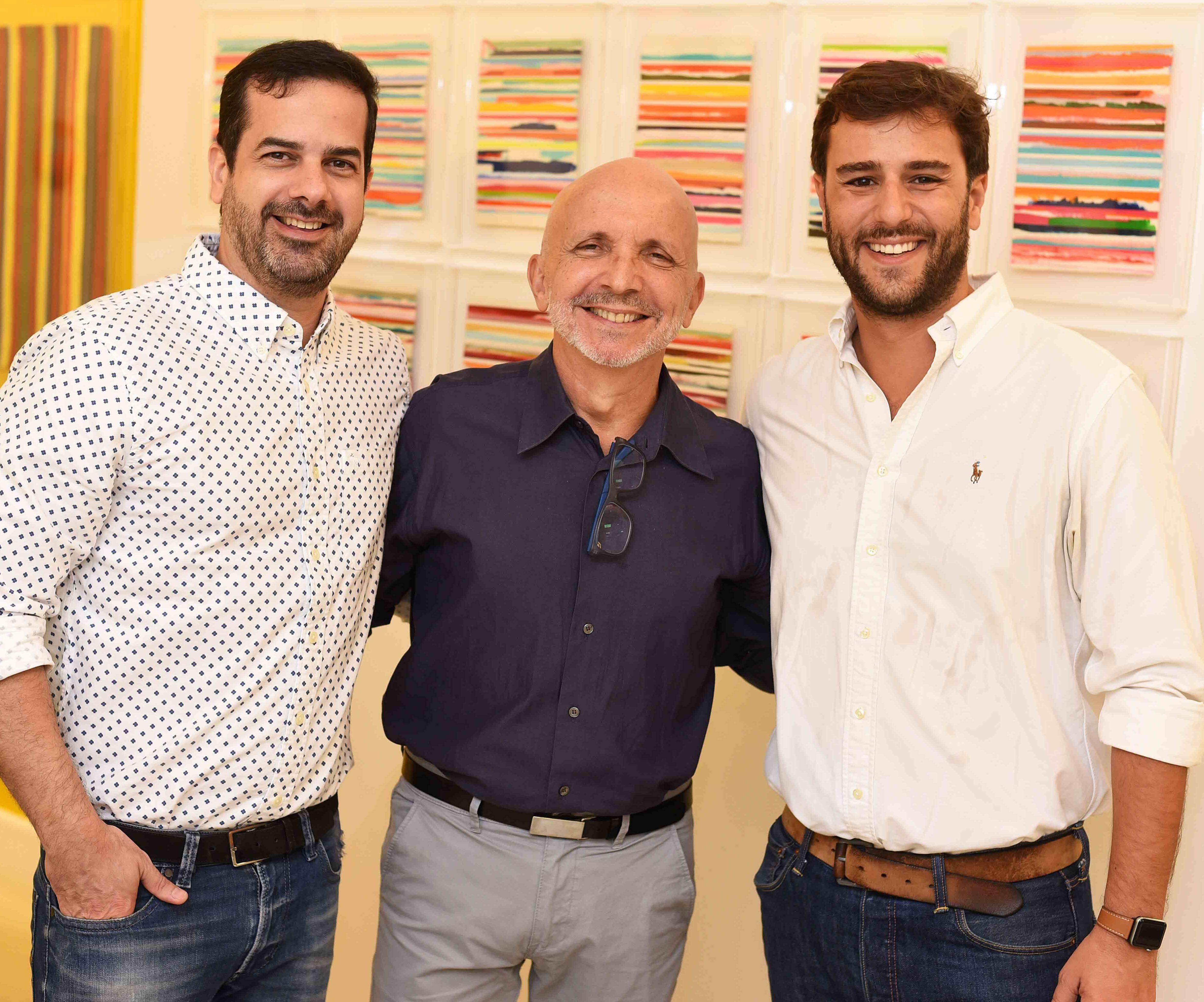 Zenio Farias, Ronald Goulart e Pedro Pamplona  /Foto: Ari Kaye
