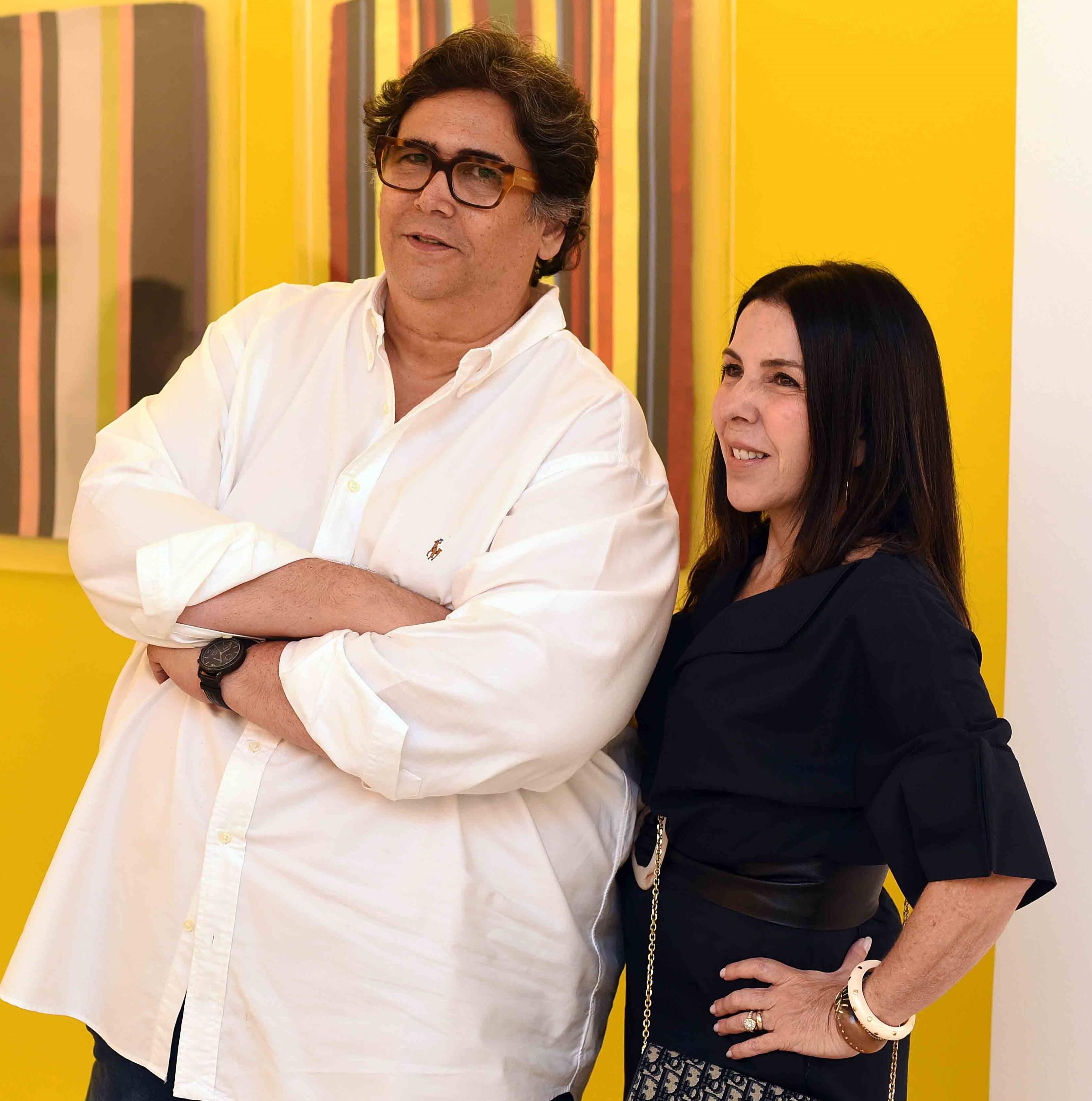Antonio Neves da Rocha e Paola Ribeiro  /Foto: Ari Kaye
