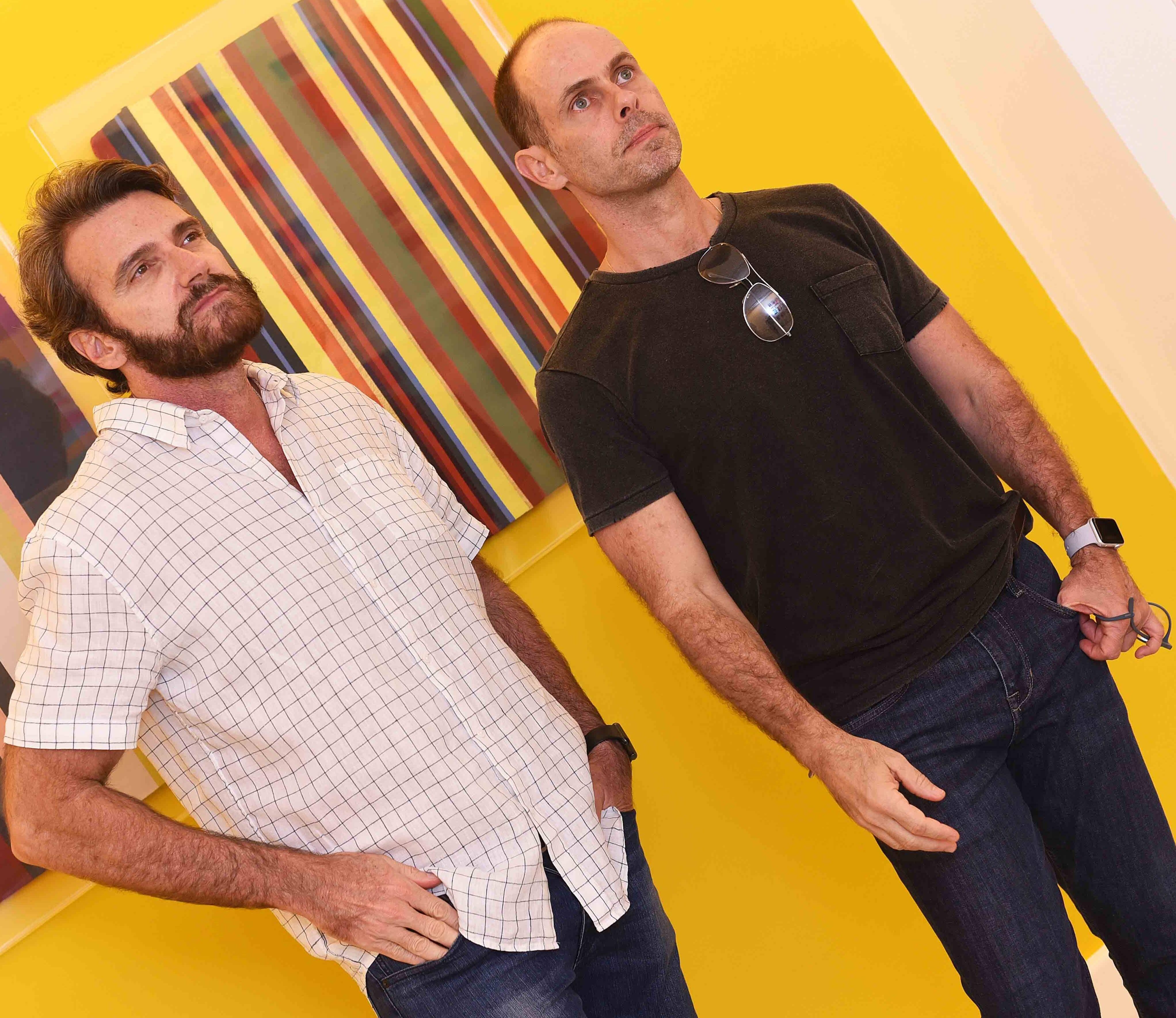 Augusto Souto Maior e Claudio Carvalho  /Foto: Ari Kaye