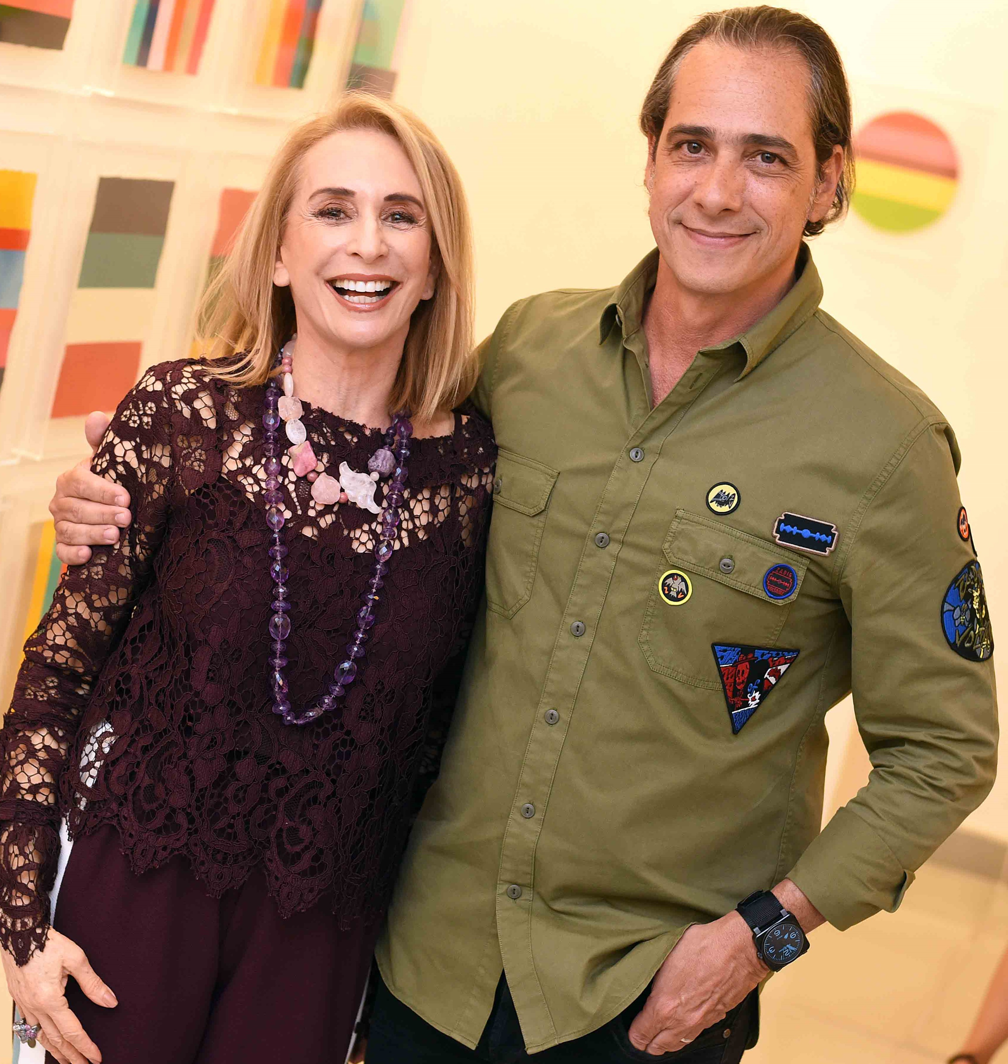 Eliana Benchimol e Marcelo Catalano  /Foto: Ari Kaye