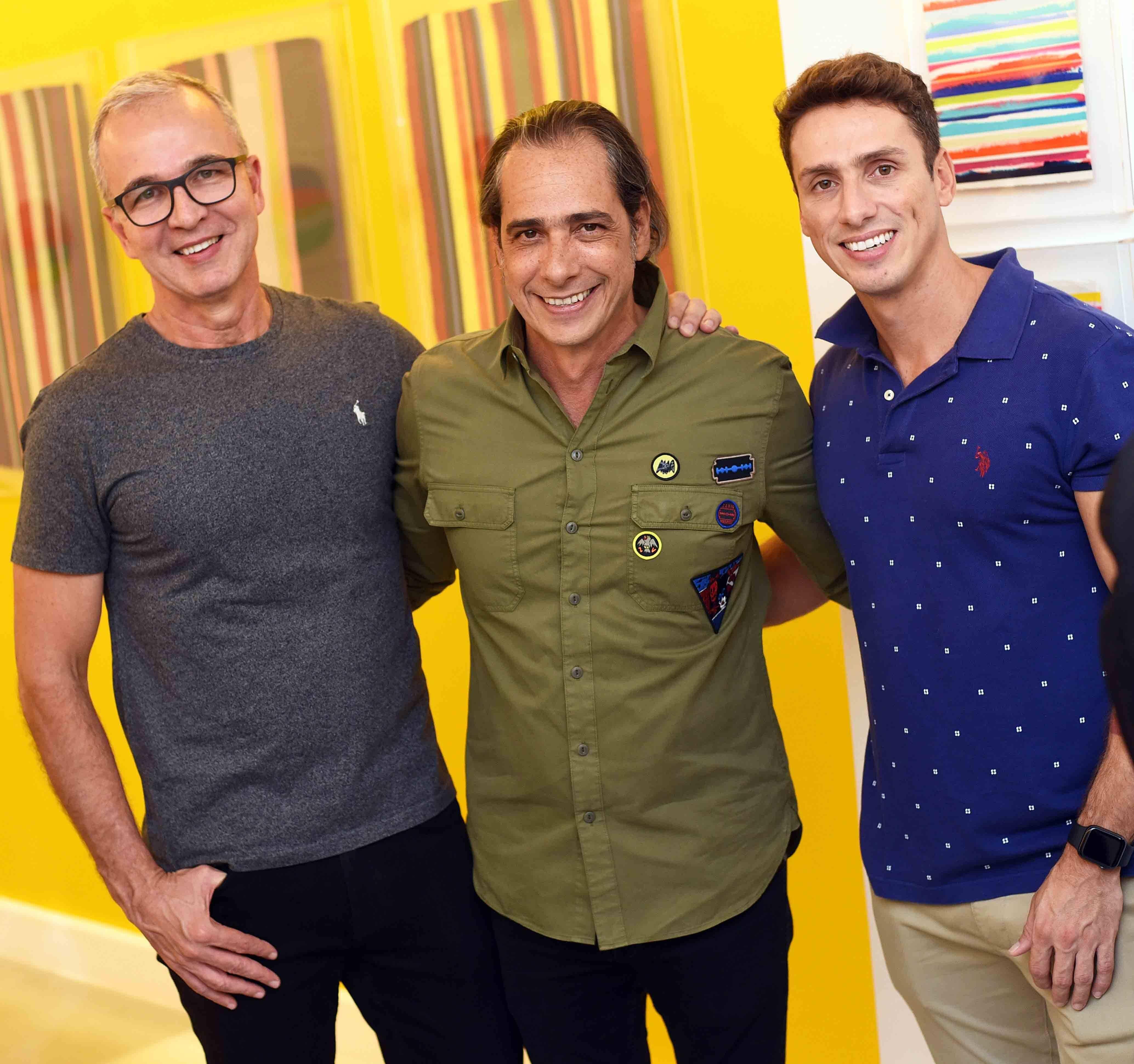 Jorge Delmas, Marcelo Catalano e Rodrigo Kestering  /Foto: Ari Kaye