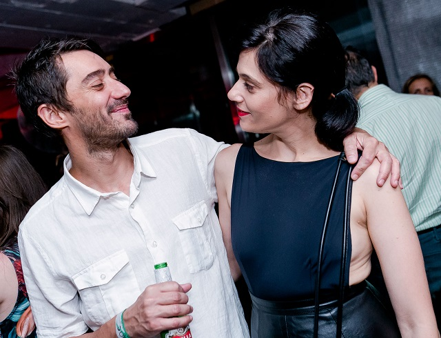 Fernando Donaire e Julia Morelli