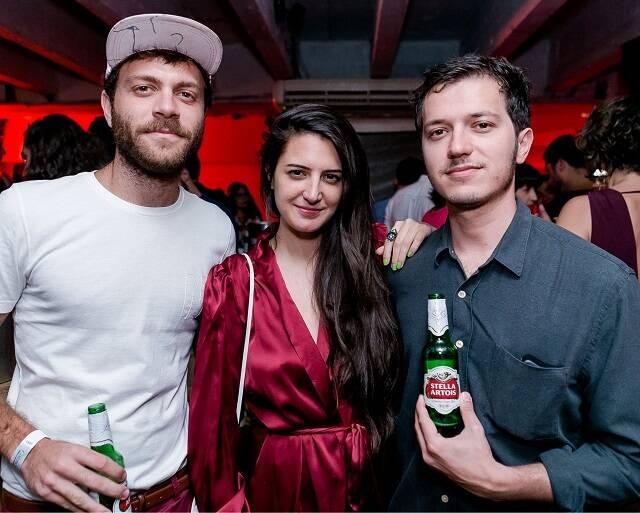 Raphael Tepedino, Rachel Mancini e Rafael Varandas