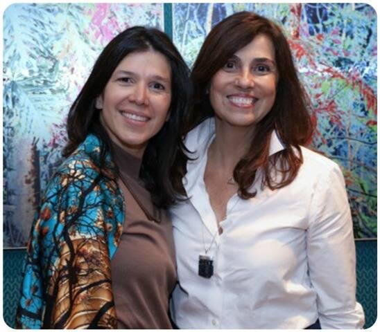 Claudia Galate e Glaucia Nogueira