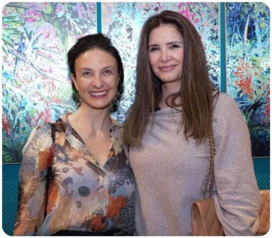 Daniela Bussarello e Sonya Jadersten