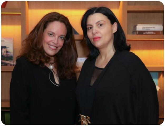 Isabel Brossolette Branco e Helen Kupfer Haas