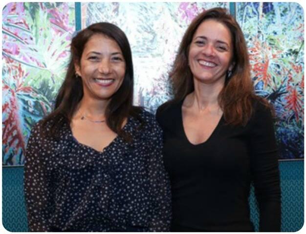 Isabela Vie e Tula Moraes