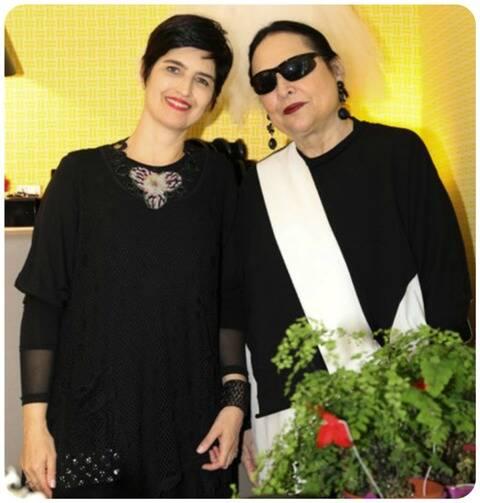 Patricia Ferraz e Giovanna Kupfer