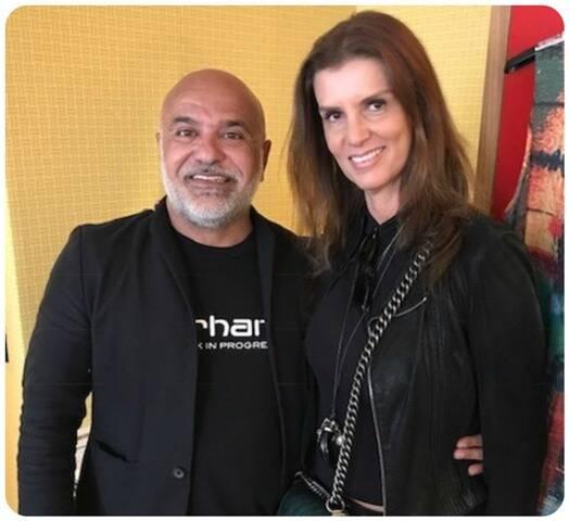 Paulo Pereira e Andrea Funaro