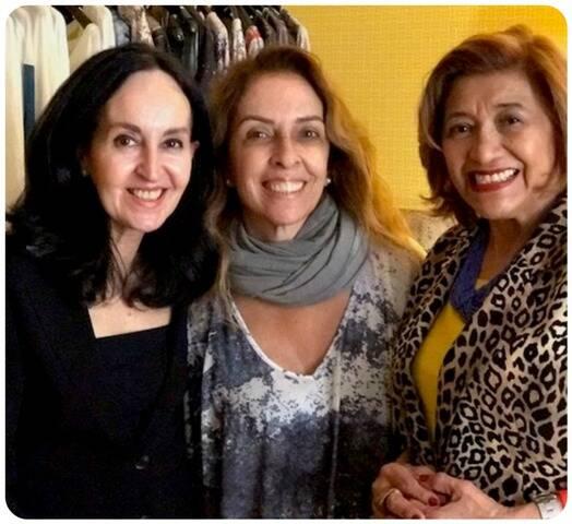Rosan Pasquet, Rita Lessa e Marina Nunes
