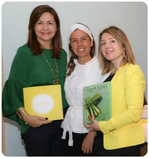 Samira Campos, Vanessa Boiteux e Morena Leite
