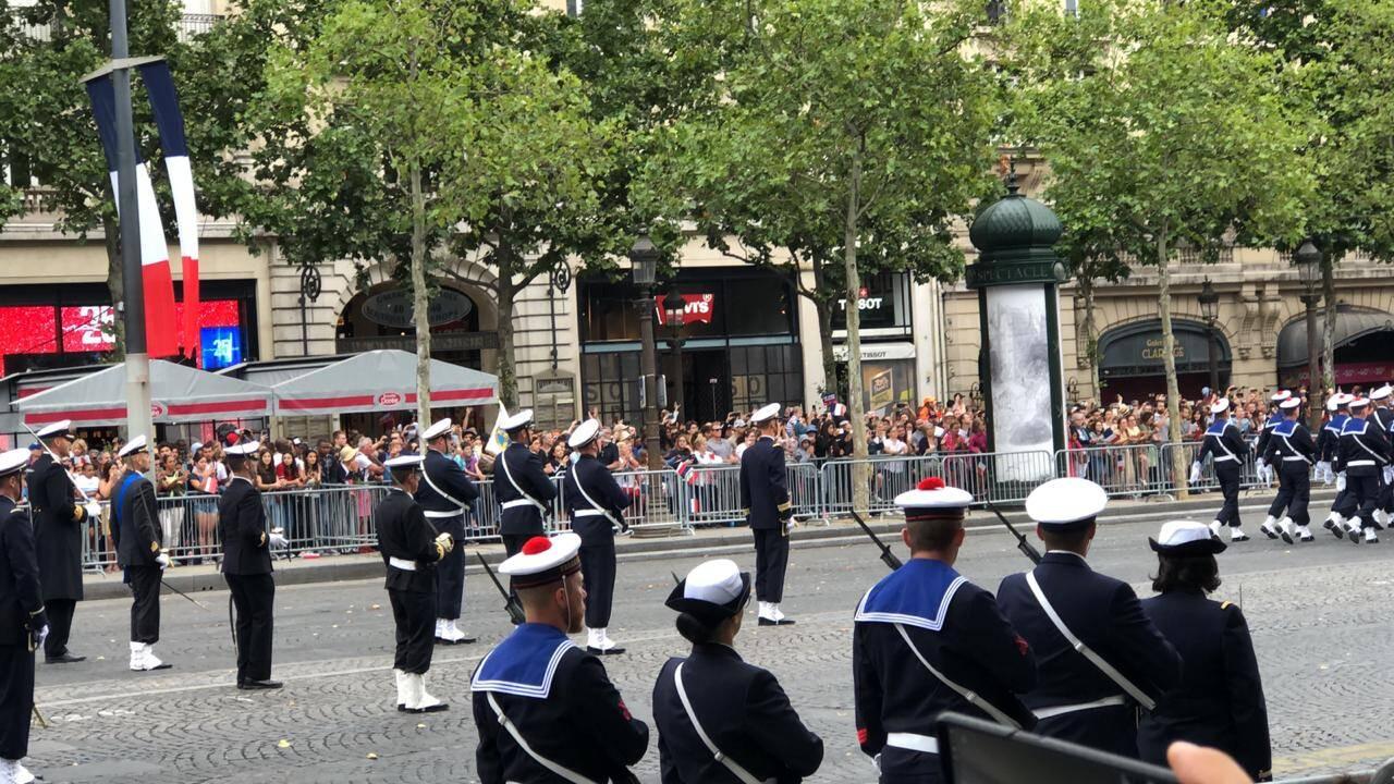 Ainda na calmaria para comemorar os 230 anos da queda da Bastilha/Foto: Ariosto Amado