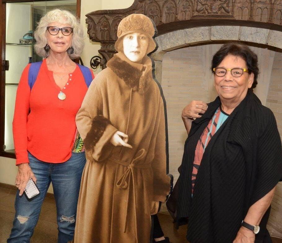 Françoise Purcel, o totem de Eva Klabin e Lúcia Laguna  /Foto: Marco Rodrigues