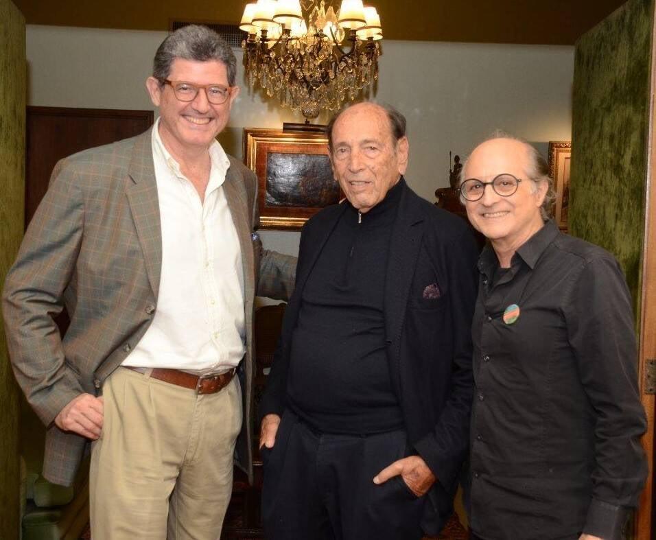 Joaquim Levy, Israel Klabin e Márcio Doctors  /Foto: Marco Rodrigues