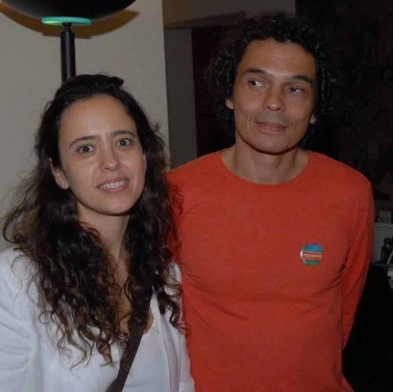 Julia Ayres, Cesar Oiticica Filho e Claudia Bakker  /Foto: Marco Rodrigues