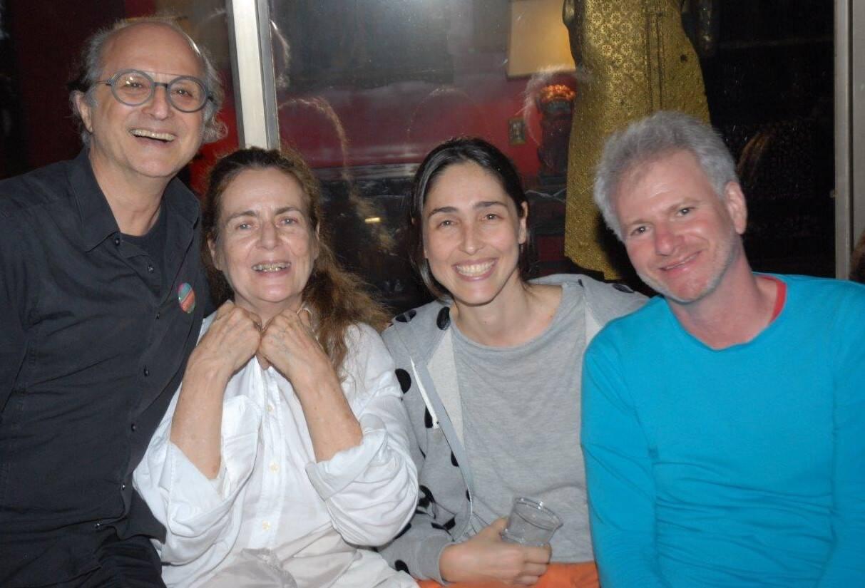 Marcio Doctors, Enrika Berbardelli, Maria Klabin e Márcio Bokner /Foto: Marco Rodrigues