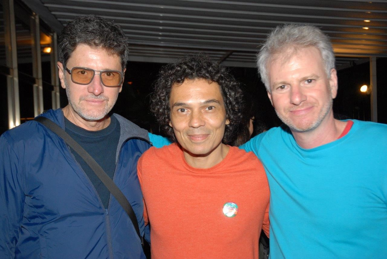 Marcus Wagner, Cesar Oiticica Filho e Márcio Bokner /Foto: Marco Rodrigues