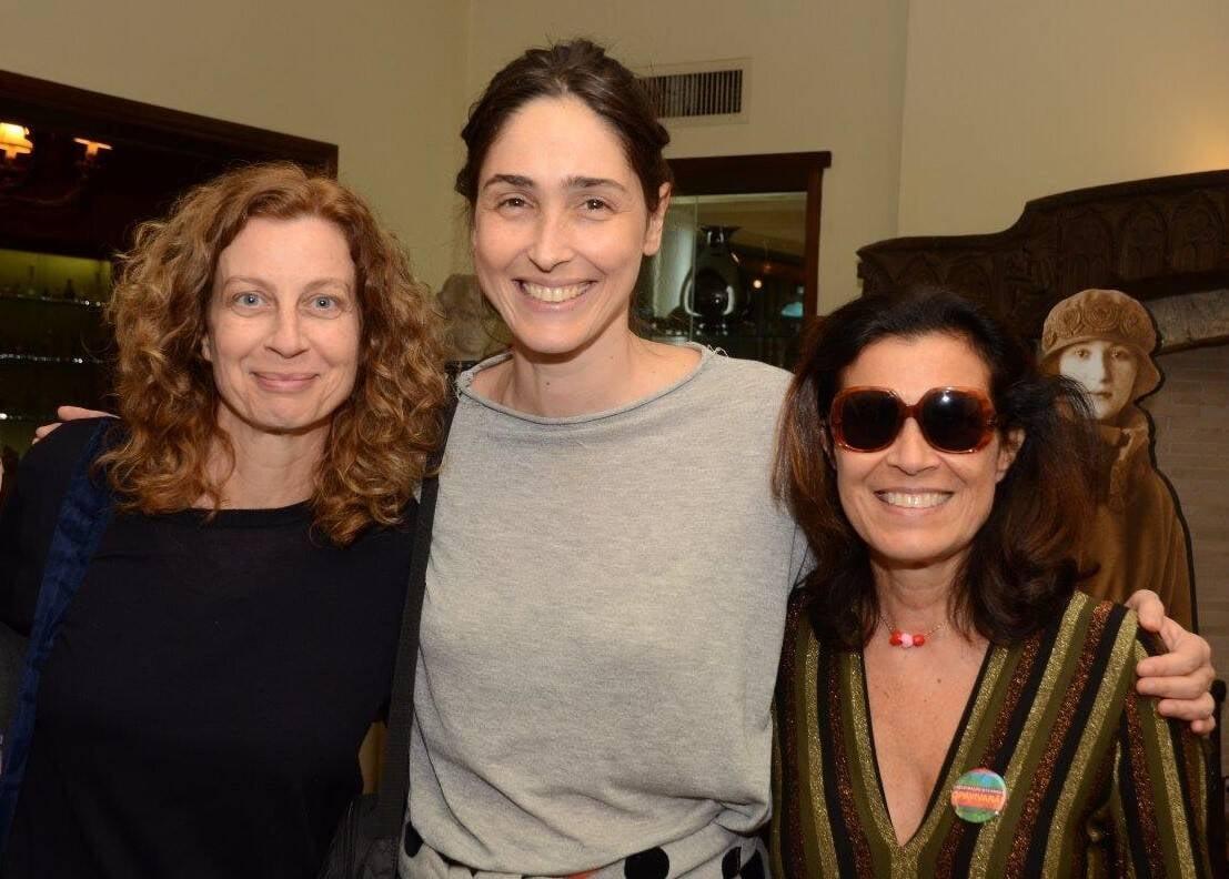Marta Jordan, Maria Klabin e Claudia Bakker /Foto: Marco Rodrigues