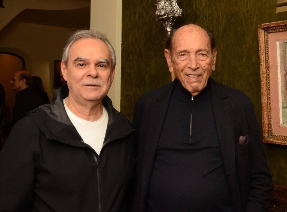 Max Perlingeiro e Israel Klabin /Foto: Marco Rodrigues