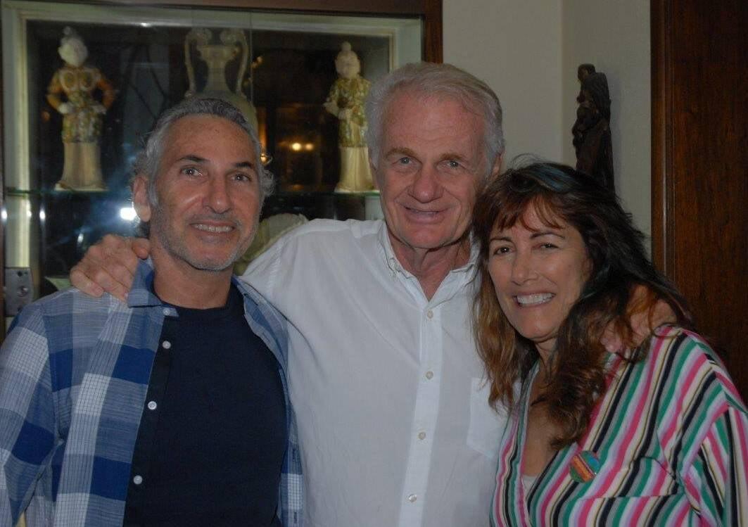 Tufic Nigri, Michel Kurc e Myriam Glatt /Foto: Marco Rodrigues