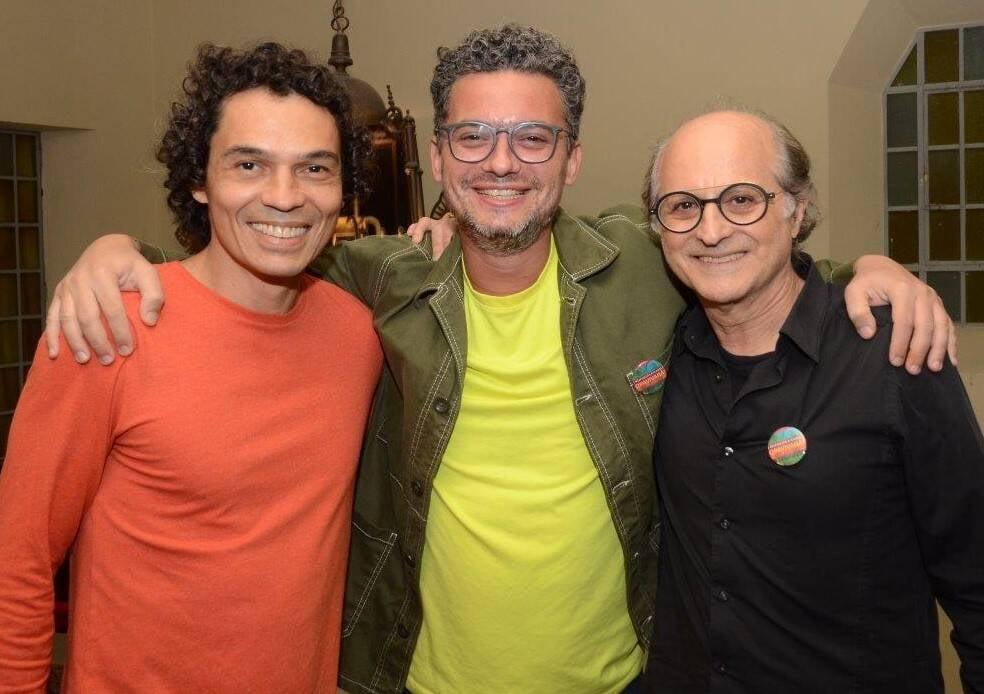 Cesar Oiticica Filho, Daniel Toledo e Márcio Doctors   /Foto: Marco Rodrigues