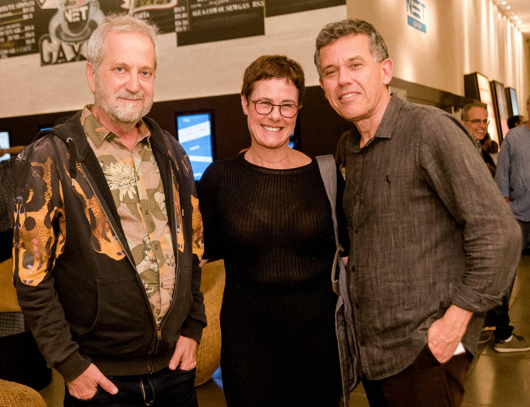 Leonel kaz, Esther e Nilton Bonder /Foto: Renato Wrobel